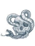 TattooedNow! Skull with Snake
