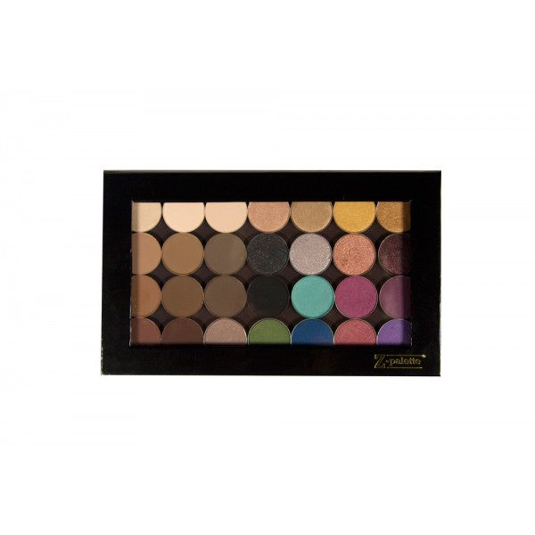 Z PALETTE Large Black Eyeshadow Palette - TILT Makeup London 02
