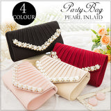 Women's bag 2020 pearl like square wine party Japanese envelope bag