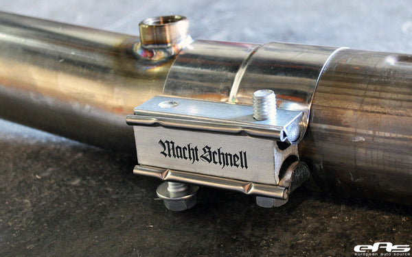 Macht Schnell Bypass Track Pipes - E9X M3