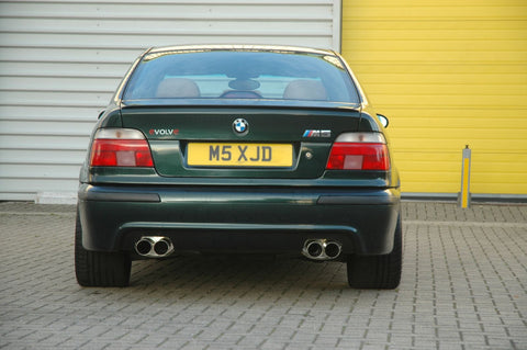 Evolve Rear Exhausts BMW E39 M5 S62 v8