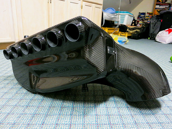 EVOLVE CSL Style Carbon Airbox | 0-60 MOTORSPORTS