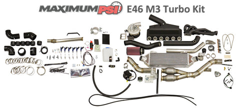 Maximum PSI E46 M3 Turbo Kit STG 1