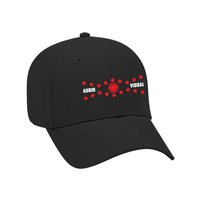 Audio Visual Hat - Black
