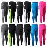 Leggings Sports Women Workout Skinny Gym Pants High Waist Yoga Tights Trousers - RELEVAZA