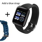 Smart Band Blood Pressure 1.14'' Screen Fitness Tracker Watch Heart Rate Fitness Bracelet Waterproof Music Control For Men Women - RELEVAZA