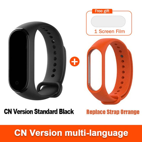 Global Version Optional Original Xiaomi Mi Band 4 Smart Bracelet Heart Rate Fitness 135mAh Color Screen Bluetooth5.0 Waterproof - RELEVAZA