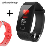 Smart Band Blood Pressure Q1 Heart Rate Monitor Fitness Tracker Smart Watch Fitness Bracelet Waterproof Weather Display Women - RELEVAZA