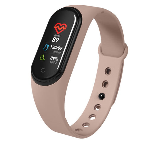 Smart Band Blood Pressure Measurement Pedometer Fitness Tracker Watch Smart Bracelet Women Men Waterproof For Android Ios - RELEVAZA