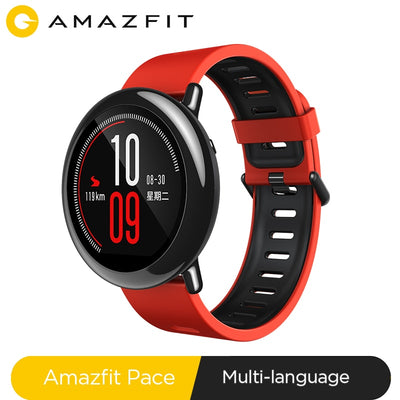 NEW Amazfit Pace Smartwatch Amazfit Smart Watch Bluetooth Music GPS Information Push Heart Rate For Xiaomi phone redmi 7 IOS - RELEVAZA