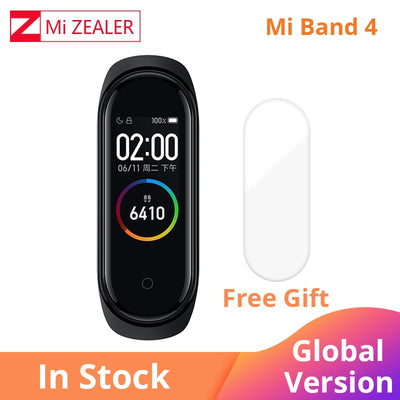 2019 Global Version Xiaomi Mi Band 4 Multi language Wristband fitness Bracelet 135mAh Bluetooth 5.0 Smartwatch - RELEVAZA