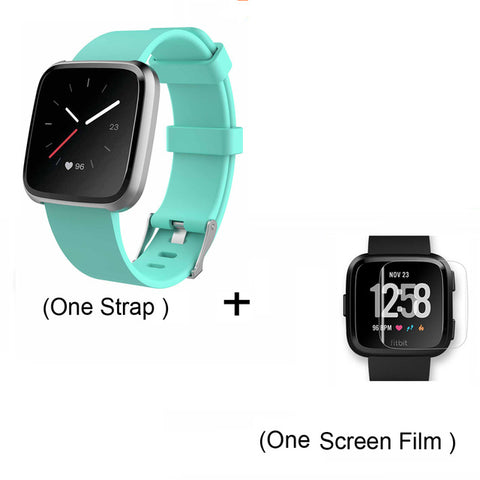 Replacement Band For Fitbit Versa/Versa Lite Starp Soft Silicone Waterproof Wrist Accessories Strap For Fit bit Versa Bracelet - RELEVAZA