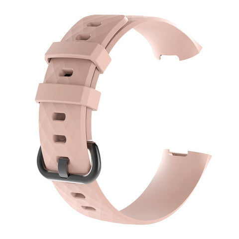 Band For Fitbit Charge 3 Strap Silicone Accessories Wristband For Fitbit Charge 3SE Replacement Strap For Fitbit Charge 3 Band - RELEVAZA
