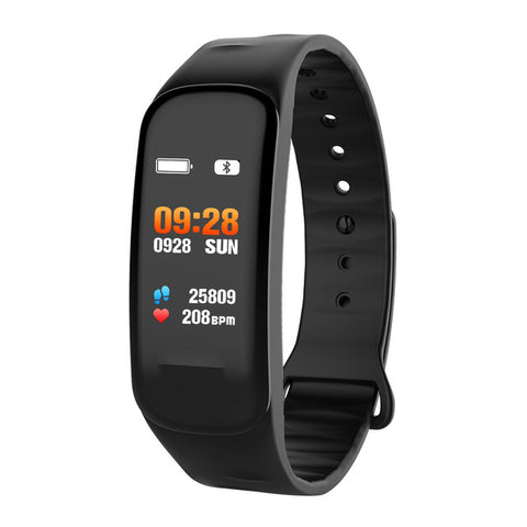 Fitness Bracelet C1S Smart Watch Waterproof Smart Bracelet Heart Rate Monitor Health Tracker bracelet For Sport PK Mi Band 4 - RELEVAZA