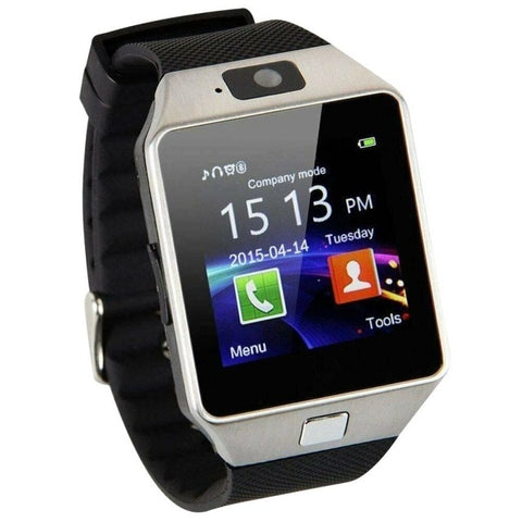 Touch Screen Smart Watch dz09 With Camera Bluetooth WristWatch SIM Card Smartwatch For Ios Android Phones Support Multi language - RELEVAZA