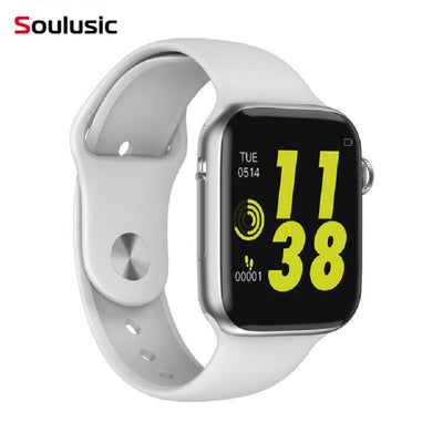 Soulusic IWO 8 lite Bluetooth Call Smart Watch ECG Heart Rate Monitor W34 Smartwatch for Android iPhone xiaomi PK iwo 8 10 - RELEVAZA