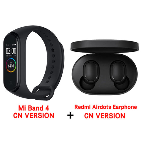 Original Brand New Xiaomi Mi Band 4 Wristband Miband 4 Fitness Bracelet 3 Color AMOLED Screen Music Control Smartband - RELEVAZA