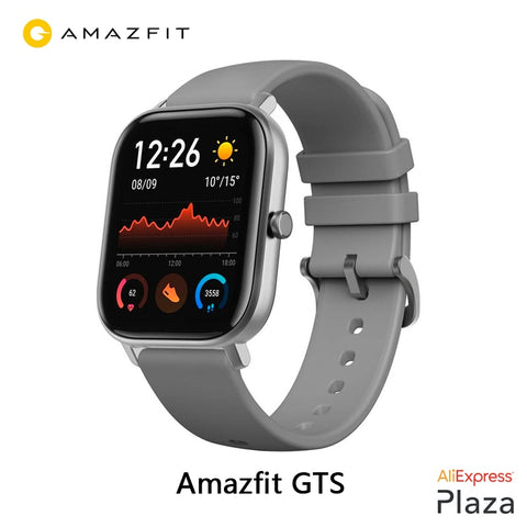 Xiaomi Huami Amazfit GTS Smartwatch (new, smart watch, waterproof swimming, Bluetooth, GPS, sport) [Global Version] - RELEVAZA