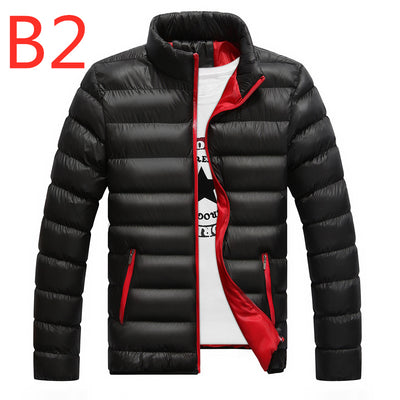 B2 2019 Winter For Men's Jacket Ultralight White Duck down jacket Men's down jackets Outdoor Winter Male casual down jacket Coat - RELEVAZA