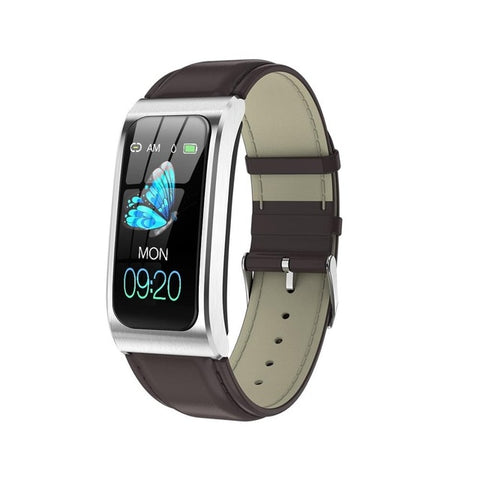 "AK12 women smart watch 1.14"" IP68 waterproof heart rate stopwatch alarm clock fitness tracker swim watches PK X3 S2 Android IOS - RELEVAZA"