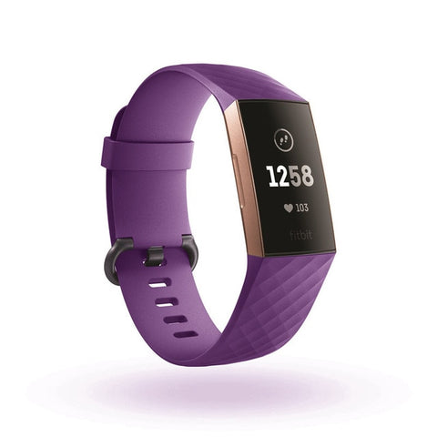 Pure Color Silicone Replacement Smart Watch Accessories Bracelet Strap For Fitbit Charge 3 Band Wristband Belt Fit Bit band - RELEVAZA