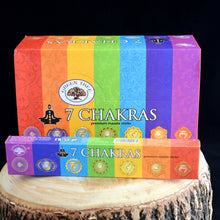 Load image into Gallery viewer, 7 Chakras Premium Natural Incense Sticks - 1 Box (15g) - witchchest