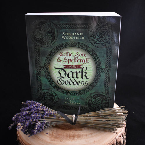 Celtic Lore & Spellcraft Of The Dark Goddess By Stephanie Woodfield - witchchest