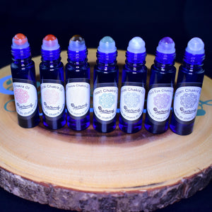 Chakra Rollerball Oils By All Charmed - 7 Types - witchchest