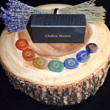 Load image into Gallery viewer, Chakra Stone Set - witchchest