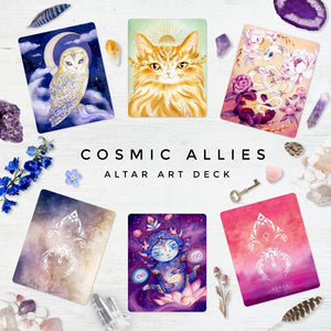 Cosmic Allies Altar Cards By Nicole Piar - witchchest