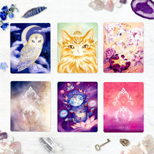 Load image into Gallery viewer, Cosmic Allies Altar Cards By Nicole Piar - witchchest