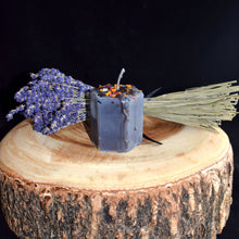 Load image into Gallery viewer, Herbal Hexagon Candles With Crystals By BlakByrd (Ottawa) - witchchest