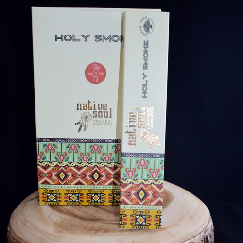 Native Soul Holy Smoke Incense Sticks- 1 Box (15g) - witchchest