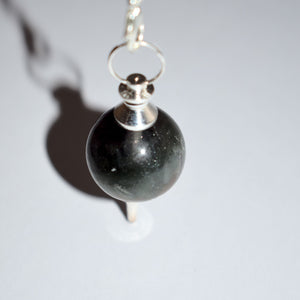 Pendulum for Divination- Sphere Natural Stone (5 Types) - witchchest