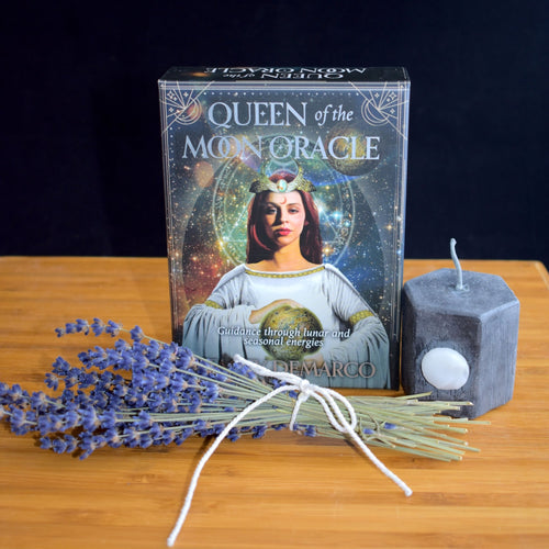 Queen of the Moon Oracle Cards by Stacey Demarco - witchchest