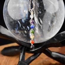Load image into Gallery viewer, Sterling Silver Double Helix Crystal Pendant By All Charmed - 3 Types - witchchest