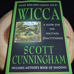 Wicca: A Guide for the Solitary Practitioner Book by Scott Cunningham - witchchest