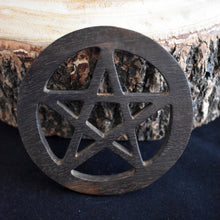 Load image into Gallery viewer, Wooden Altar Tile - 2 Types - witchchest