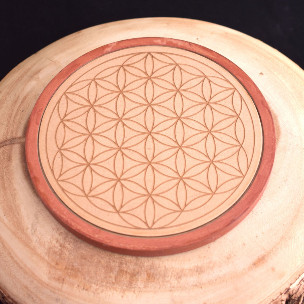 Wooden Crystal Grid (2 Types) - witchchest