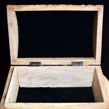 Load image into Gallery viewer, Wooden Raven Box - witchchest