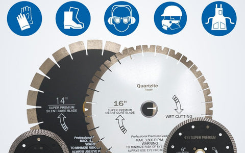 Safety Instruction - Diamond Blades