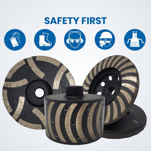 Safety Instruction - Grinding Cup Wheels