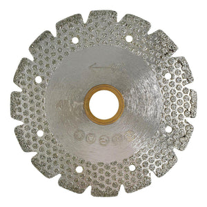 Electroplated V Slot Marble Blade with Dotted Pad - Capstone Tool