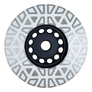 Pine Cone Grinding Cup Wheel - Capstone Tool