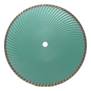 Wide Turbo Blade with Wavy Core - Capstone Tool