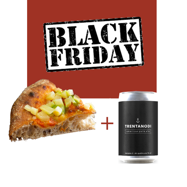 Black Friday La Box Pizza: Margherita 3.0 e Birra Menoamara