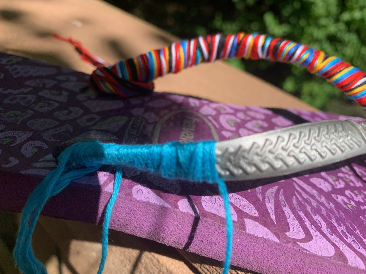 Monday: Create Your Own Embroidered Flip Flops!