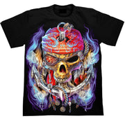 Anchor Pirate Skull T shirt - Apache Concept Store