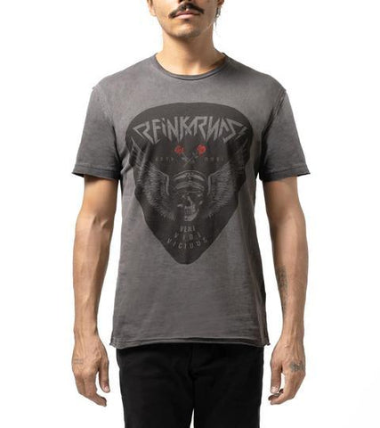 Overdry Skull Grunge T shirt - Apache Concept Store