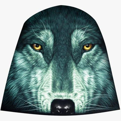 Wolf Face Beanie - Apache Concept Store